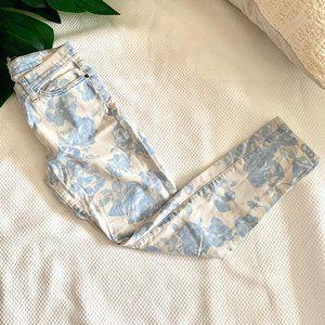 Current Elliott The Stiletto Pattern Jeans